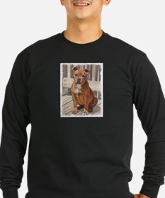 Staffordshire Bull Terrier Puppy Long Sleeve T-Shi