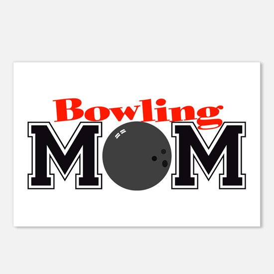 Bowling Mom Postcards (Package of 8)