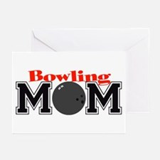 Bowling Mom Greeting Cards (Pk of 10)