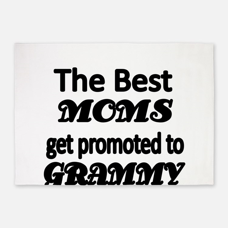 The Best Moms get promoted to GRAMMY 5'x7'Area Rug