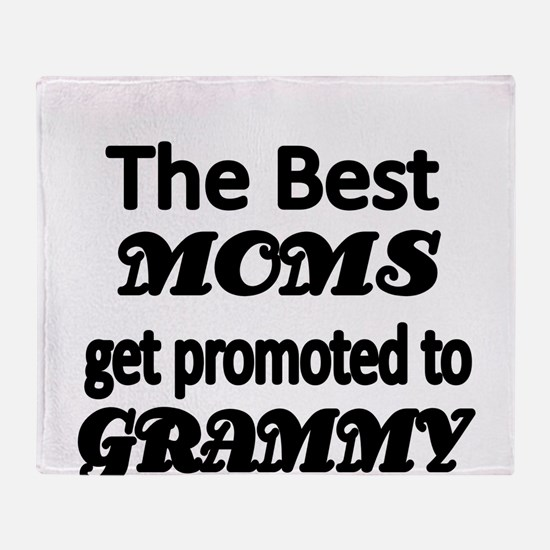 The Best Moms get promoted to GRAMMY Throw Blanket