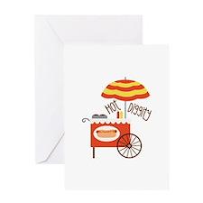 Hot Diggity Greeting Cards