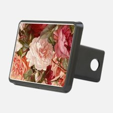 Floral Pink Roses Hitch Cover