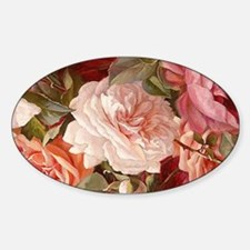 Floral Pink Roses Decal