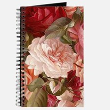 Floral Pink Roses Journal