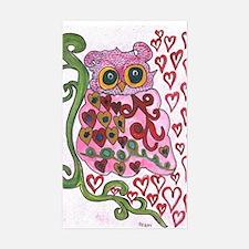 February Owl 1 Decal