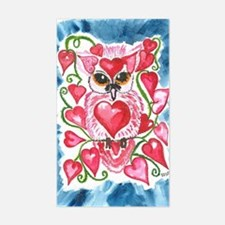 February Owl 2 Decal