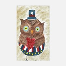July Owl 1 Decal