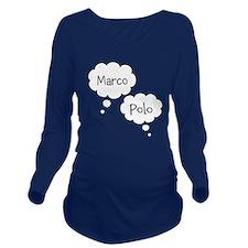 Marco Polo Maternity Long Sleeve Maternity T-Shirt
