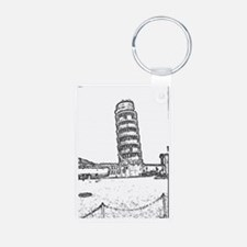 The Leaning Tower Of Pisa Keychains