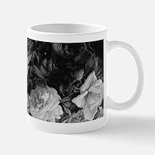 Floral Grey Roses Mugs