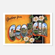 Georgia Greetings Postcards (Package of 8)