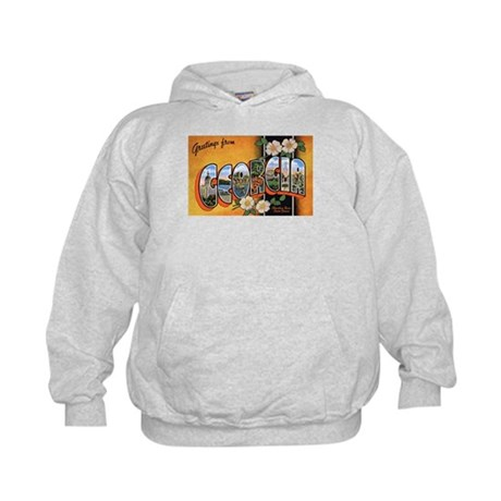 Georgia Greetings Kids Hoodie