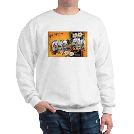 Georgia Greetings (Front) Sweatshirt