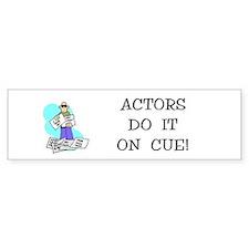 Actors Gift Bumper Bumper Sticker