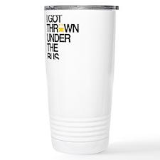 Cute Thrown under bus Travel Mug