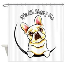 Fawn Frenchie IAAM Shower Curtain
