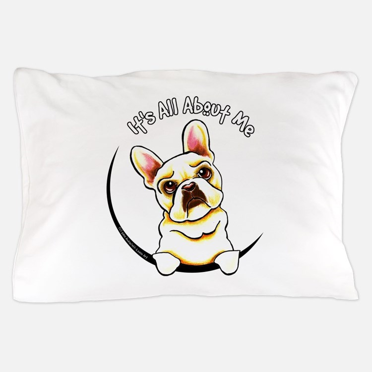 Fawn Frenchie IAAM Pillow Case