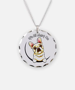 Fawn Frenchie IAAM Necklace