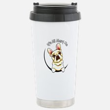Fawn Frenchie IAAM Stainless Steel Travel Mug