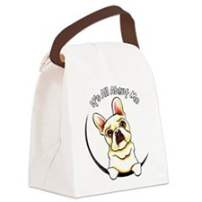 Fawn Frenchie IAAM Canvas Lunch Bag