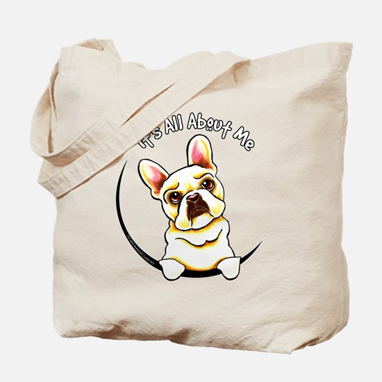 Fawn Frenchie IAAM Tote Bag