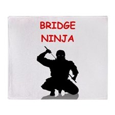 BRIDGE Throw Blanket
