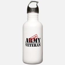 Proud Army Veteran Water Bottle