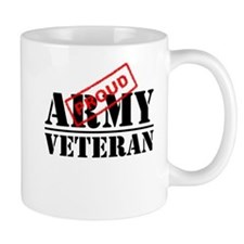 Proud Army Veteran Mugs