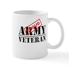 Proud Army Veteran Mugs