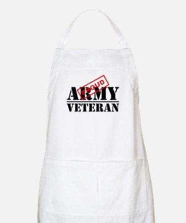 Proud Army Veteran Apron