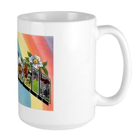 Georgia Greetings Large Mug