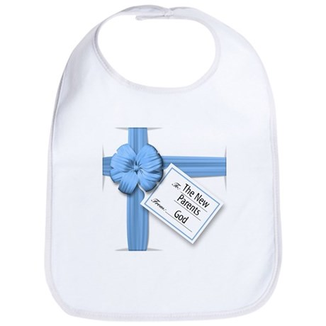 A Gift from God Blue Bib