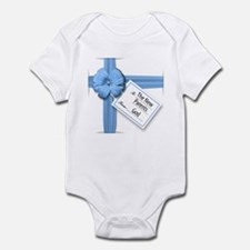 A Gift from God Blue Infant Bodysuit