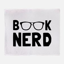 Book Nerd Throw Blanket