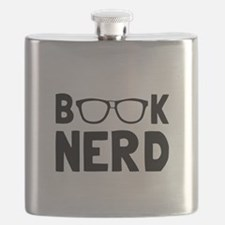 Book Nerd Flask