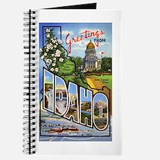 Idaho Greetings Journal
