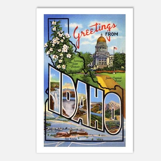 Idaho Greetings Postcards (Package of 8)