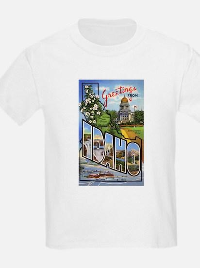 Idaho Greetings (Front) T-Shirt