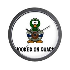 Hooked On Quack Wall Clock