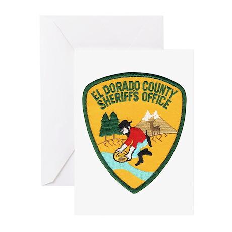 El Dorado County Sheriff Greeting Cards (Package o