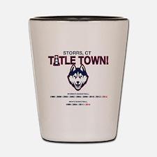 UConn Titletown Shot Glass