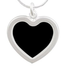 PIRATES LIFE FOR ME Silver Heart Necklace