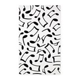 Music note 3x5 Rugs