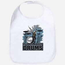 Its All About Drums Bib