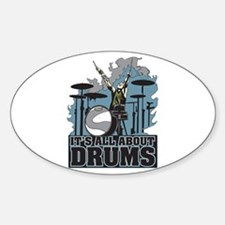 Its All About Drums Decal