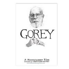 Edward Gorey Documentary  Postcards (Package of 8)