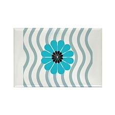 Bright Blue Flower Pastels Dream Magnets