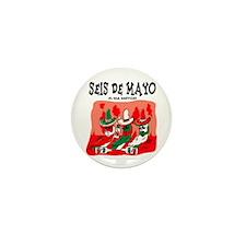 Seis de Mayo Mini Button