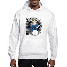 Grunge Drummer Hoodie